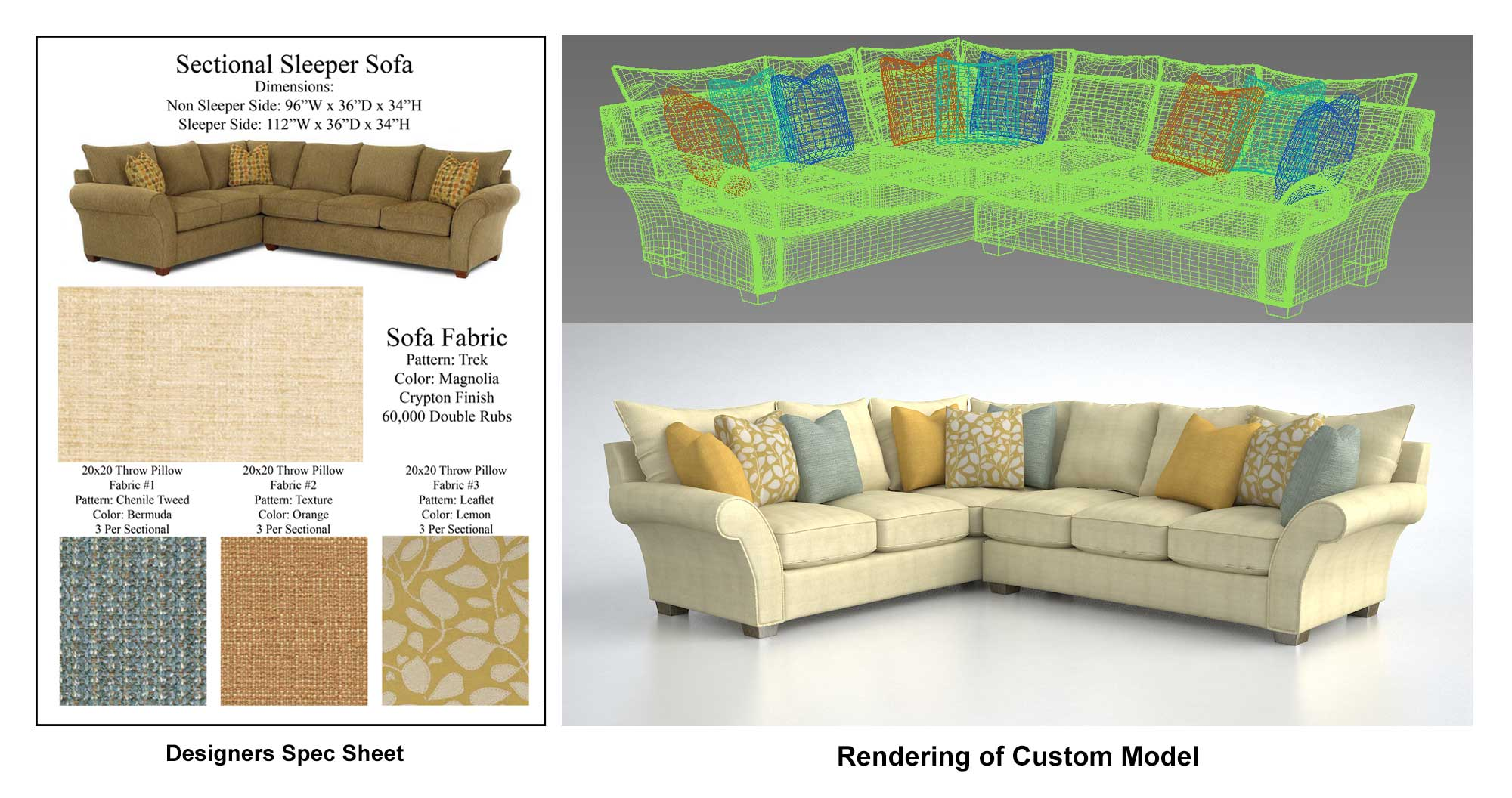 Creating custom 3d furniture and fixtures for Furniture and fixtures