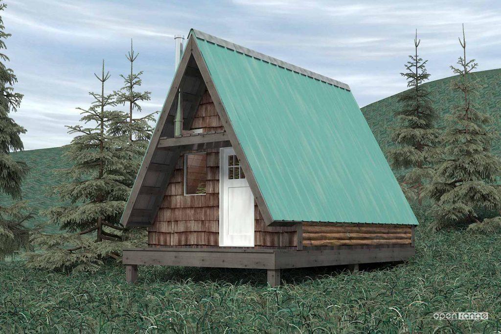 chicken coop as built