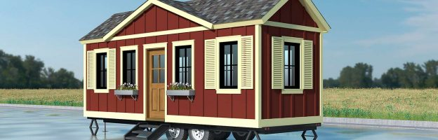 Four Tiny Homes